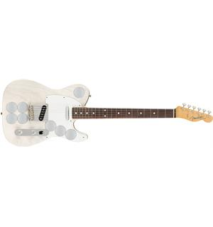 Fender Jimmy Page Mirror Telecaster White Blonde, RW