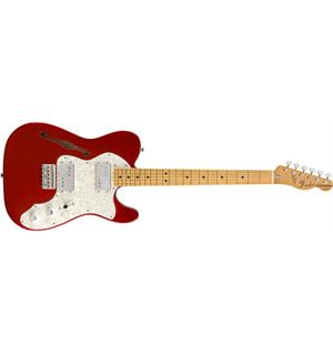 Fender Vintera '70s Telecaster Thinline Candy Apple Red, MN