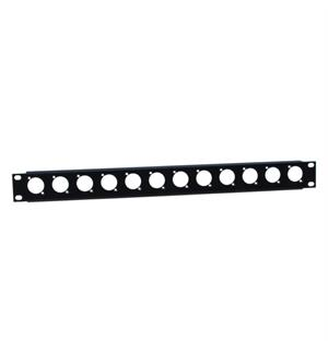 "Adam Hall 19"" Parts 872215 - U-shaped Rack Panel 1 U"