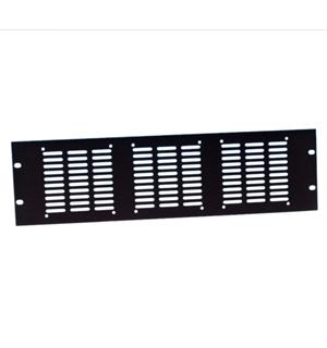 "Adam Hall 19"" Parts 8765 - Rack Panel punched for 3"