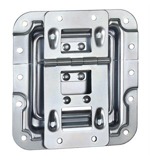 Adam Hall Hardware 270755 - Lid Stay cranked with Hinge Clic