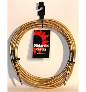 Dimarzio EP1715SSGM Instrumentkabel Braided 4,5 m. Gold Metallic