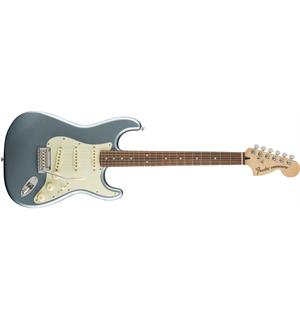 Fender Deluxe Roadhouse Strat Mystic Ice Blue, PF