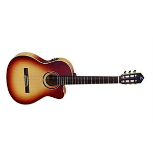 Ortega Honey Suite C/E Klassisk gitar 4/4 Size, m .mik, Slim neck