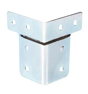 Adam Hall Hardware 40404 - Corner Brace 60 x 50 cranked for