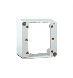 Apart E-MODON Surface mount box Built-on box for wall controls