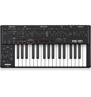 Behringer MS-101-BK Black Analogue synthesizer