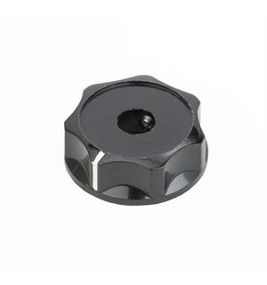 Fender Deluxe Jazz Bass Lower Concentric Knob, Black