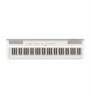 Yamaha P121WH Digital Piano, White 73-key