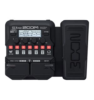 Zoom G1X Four Guitar Multi-Effects Proce