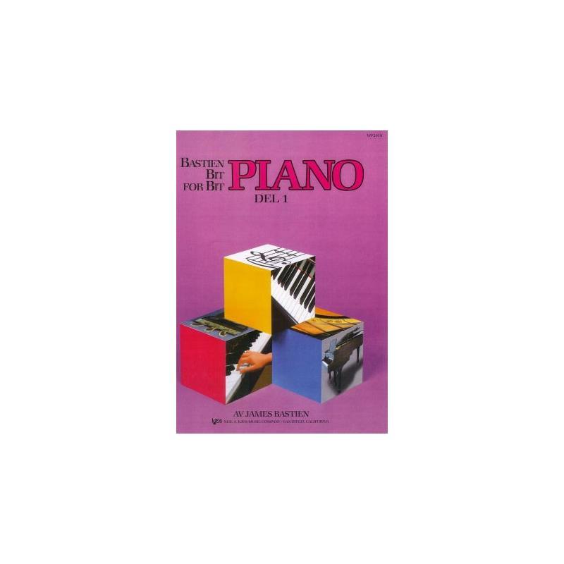 Unknown Bok  Bastien Bit For Bit 1 Pianoskole Norsk Utgave
