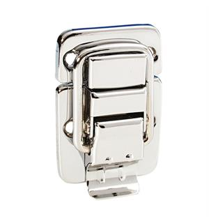 Adam Hall Hardware 1600 - Drawbolt medium chrome-plated