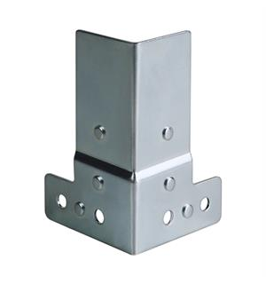 Adam Hall Hardware 40405 - Corner Brace 50 x 80 cranked