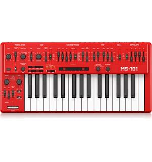 Behringer MS-101-RD Red Analogue synthesizer