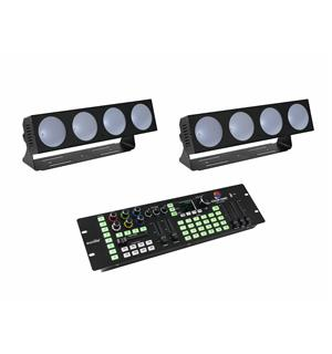 Eurolite Set 2x LED CBB-4 & Color Chief DMX LED Controller