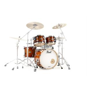 "Pearl Masters Maple Complete 22"" Standar Shellpack - Almond Red Stripe"
