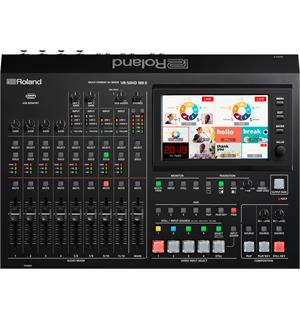 Roland VR-50HD Mk 2 Multiformat AV-Mixer for 1080p streaming&recording