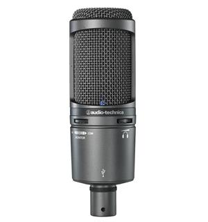 Audio-Technica AT-2020USB+ Usb mikrofon med hodetelefonutgang