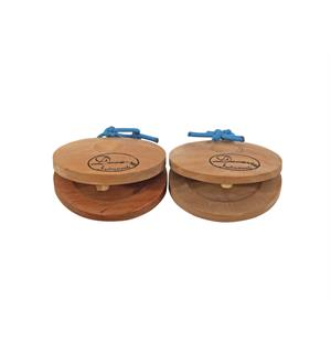 DIMAVERY Castanets, wood/pair