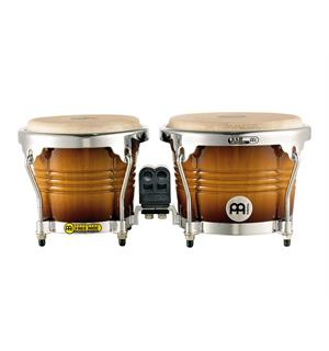 "Meinl FWB-200-GAB FreeRide Wood Bongo 6 3/4""+8"", Gld Am.(M)"
