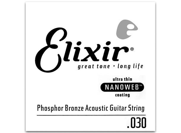 elixir pba30 phosphor bronze acoustic 030 14130 evenstad musikk
