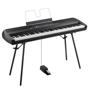 Korg SP280BK Digital Piano Sort Finish