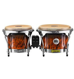 "Meinl FWB-400-BB FreeRide Wood Bongo 7""+8,5"", Brown Burl (M)"