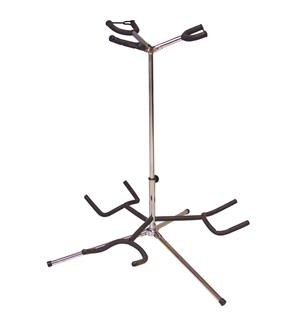 DIMAVERY Guitar stand for 3pcs chrome