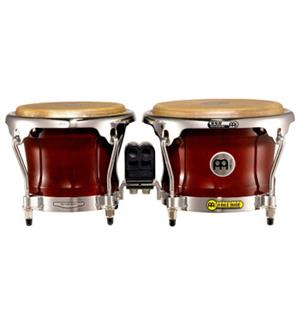 "Meinl FWB-400-CR FreeRide Wood Bongo 7""+8,5"", Cherry Red (M)"