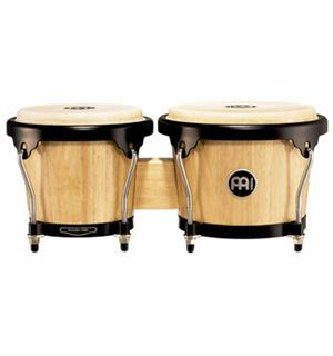 "Meinl Headliner HB-100-NT Wood Bongo 6 3/4""+8"", Natural (M)"
