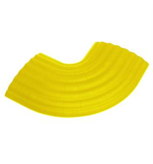 Defender Office - 90 Curve yellow for 85160 Cable Crossover