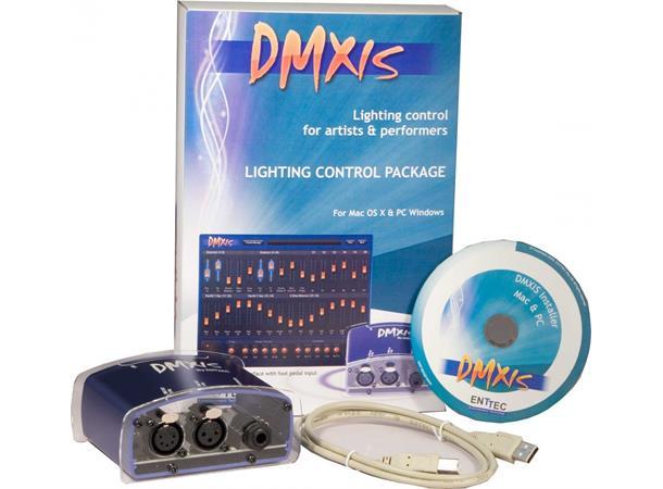 Wonderbaarlijk Enttec DMXIS USB-DMX-pakke inkludert software for PC & MAC WT-25