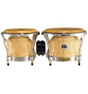 "Meinl FWB-400-NT FreeRide Wood Bongo 7""+8,5"", Natural (M)"