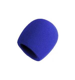Shure A58WS-BL windscreen for 58-type Blue finish