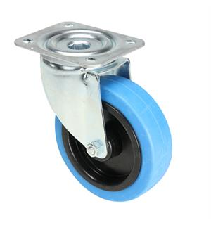 Tente 37035 - Swivel Castor 125 mm with blue Wheel