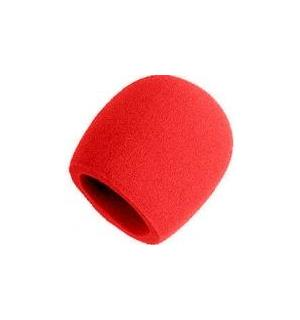 Shure A58WS-RD windscreen for 58-type Red finish