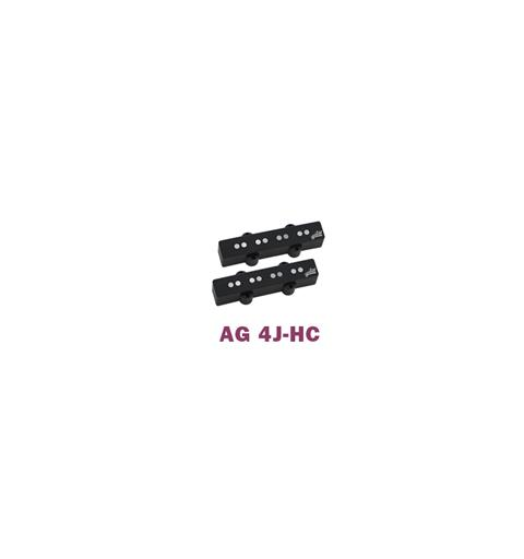 Aguilar AG-4J-HC Set Hum-canceling 4 strengs Jazz Bass Pickup Set