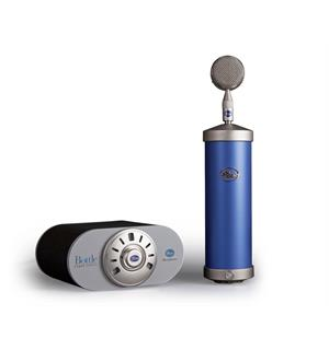 Blue Bottle Tube Microphone with B6 Bottle Cap & SKB carry case