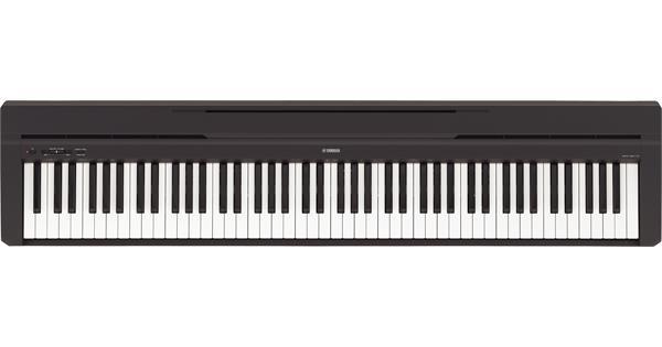 yamaha p 45 black evenstad musikk distribusjon as. Black Bedroom Furniture Sets. Home Design Ideas
