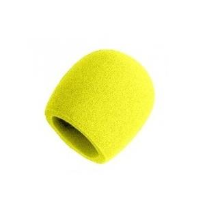 Shure A58WS-YEL windscreen for 58-type Yellow finish