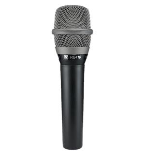 Electro Voice RE 410 Condenser Vocal Microphone, Cardioid