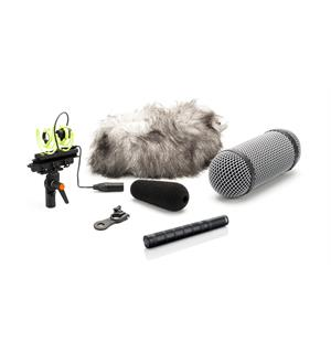 DPA 4017C-R Shotgun Microphone Compact, with Rycote Windshield