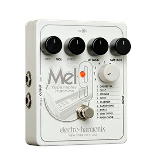 Electro Harmonix MEL9 Mellotron-på-boks Tape Replay Machine
