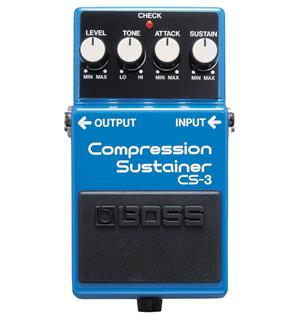 Boss CS-3 Compressor/sustainer-pedal