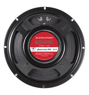 "Eminence George Alessandro 10-SC64 10"" Speaker 20 W 8 Ohm"